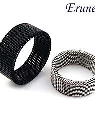 eruner®titanium Stahl, 4 mm schlanke netty transmutable Ring