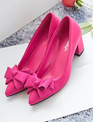 Women's Shoes Pointed Toe Chunky Heel  Pumps Shoes More Colors available