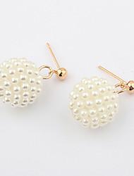 XinYuan Fashion Casual All Match Ball Earrings