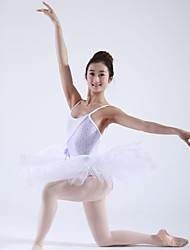 Ballet Tutus / Dresses Women's Training Cotton Ballet Sleeveless