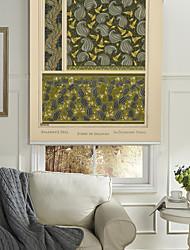 Brugmansia Flower Pattern Roller Shade
