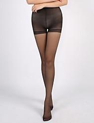 Mikimini Women's Sheer Toe Covered Silk Pantyhose