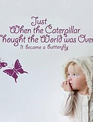 decalques de parede adesivos de parede, citações dos desenhos animados você é inspiração de parede pvc etiquetas bonitas.