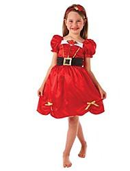 petite princesse Santa déguisements enfants costume de Noël