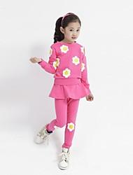 doce adorável girassol conjuntos de roupas de menina