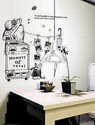 Odyssey™ Wall Stickers Wall Decals,  DIY Meaning Of Travel PVC Wall Stickers