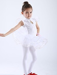 Ballet Dance Kids' Chiffon/Spandex Ballet Dance Dress(Accessory not Included) Kids Dance Costumes