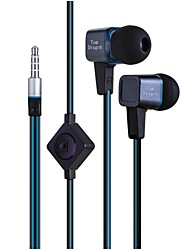 echte tom Drachen tm-12 3.5mm Inohr klare Bässe Kopfhörer mit mic für iphone / samsung / HTC / moto Handys&Tabs