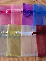 Voile Favor Bags For Wedding Set of 100(Random Color)