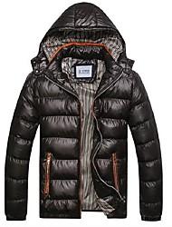 parka à capuche de la mode hiver doudoune hommes (plus de couleurs)
