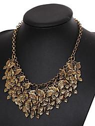 Women's Hyperbole Multi-level Butterfly Alloy Necklace