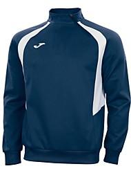 Joma Outdoor 100% Polyester Fleece Black/Dark Blue/Green/Red/Blue Men Training Clothes Sport Pollove Hoodies