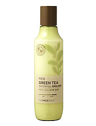 The Face Shop GREEN TEA Baby Leaf Green Tea Waterfull Emulsion
