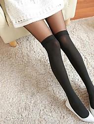 sexy meia-calça de malha vívido das mulheres