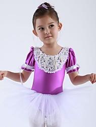 Tops/Vestidos y faldas/Tutús/Vestidos Spandex/Tul , Desempeño/Ballet) - Desempeño/Ballet - para Niños