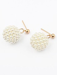 orecchini moda dolce perla