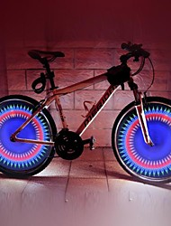 LEADBIKE A07S Multicolor 5Mode 32LED Cool Bicycle Safety Warning Wheel Lights(300LM,Rechargeable,Multicolor)1Pcs/cartons