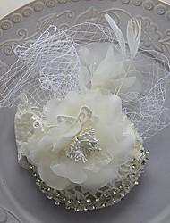 boda elegante rhinestone sombreros tocados
