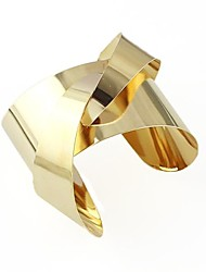 2014 New Coming Punk Style Gold Plated Unique Design Bangle Cuff