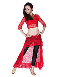 Belly Dance Dancewear Women's Sexy Lace Swallow-Tail-Shaped Skirts(More Colors)