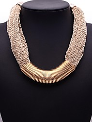 Eternity Women's Fashion Web Chain Simple Necklace