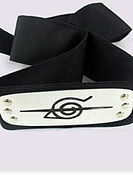 Inspired by Naruto Cosplay Anime Cosplay Costumes Headpiece Black Headband