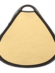 30см 2-в-1 круговой золота и серебра КПК отражателя