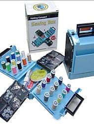 Mini portátiles plegables kit caja de costura compacto