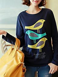 Jansa ™ женские Три птицы внешней торговли рубашки