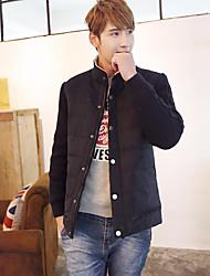 ShengWeiAo  TheFashionLeisure Knitting Cotton Long Sleeve Men Jacket Winter New Men's Wear Cotton-PaddedJacket 8013