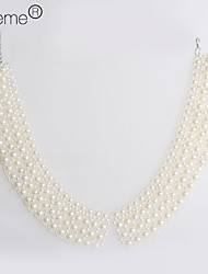 lureme®pearl Collier broderie collier