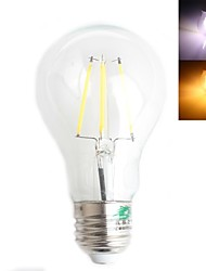Zweihnder E26/E27 4 W 4 High Power LED 380 LM Warm White/Cool White G Decorative Globe Bulbs AC 220-240 V
