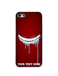 Personalized Phone Case - Tooth Design Metal Case for iPhone 5/5S