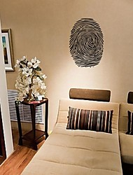 Wall Stickers Wall Decals, Home Decoration Fingerprint Quotes Mural Poster PVC Wall Stickers