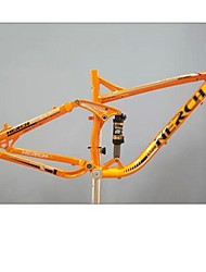 TW NERCH XC-120 17 -17.5 in DH Mountain Bike Frame Full Suspension 6061 Aluminum with Rear Shock