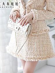 la mode jupe de laine fine de rose doll® femmes