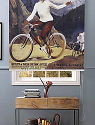 le vélo à la montagne toile à rouleau