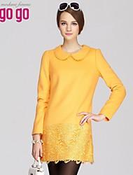 lagogo vestido de lana de las mujeres