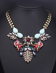Colorful day  Women's European and American fashion necklace-0526142