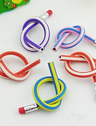 5pcs Flexible Pencil With Eraser For Childern Writing Kids Birthday Party Wedding Return Gift Present