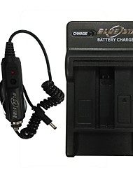 Bluestar™ US Plug Digital Battery Charger Cradle with Car Charger for GoPro HD Hero4 / AHDBT-401