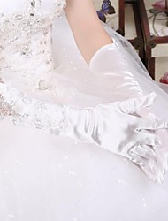 Floral Beaded Wedding Accessories Fingers Gloves