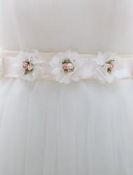 casamento da fita faixa de cetim agradáveis das mulheres com flores (mais cores)