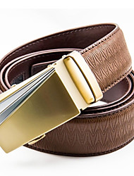 Men Waist Belt , Vintage/Party/Work/Casual Alloy/Leather