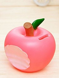 Christmas Presents A Bite Apple Piggy Bank LED Nigth Light (Random Color)