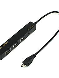 3 ports USB 2.0 haute vitesse du moyeu otg