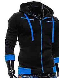 мужской моды мужские случайные всего матча тепловой вниз пальто