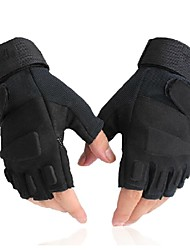 WEST BIKING® Black Tactical Cycling Bicycle Bike Half Finger Sports Luvas Men Summer Spring Gloves
