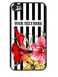Personalized Phone Case - Bar-Type Design Metal Case for iPhone 4/4S