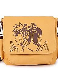 Naruto Uzumaki Naruto & Uchiha Sasuke Canvas Shoulder Hanging Cosplay Bag